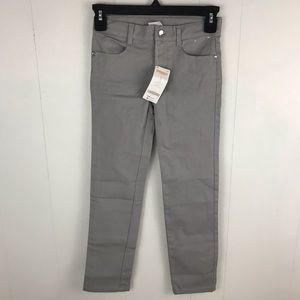 Gymboree Girls NWT Gray Skinny Jean Pants Size 7